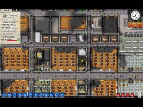 Prison architect series4 ep18 moving max  prisoners to permanent accommodation