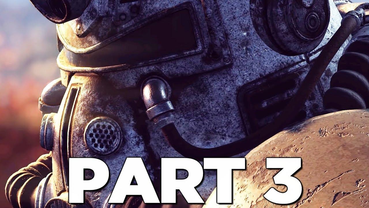 Fallout 76 Walkthrough Gameplay Part 3 Machine Event
