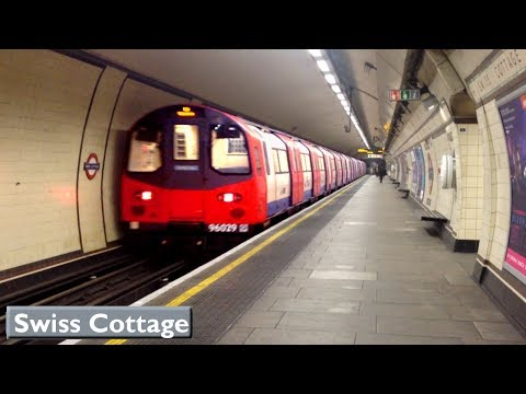 London Underground : Swiss Cottage | Jubilee line ( 1996 Tube Stock )