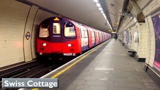 Swiss Cottage | Jubilee line : London Underground ( 1996 Tube Stock )