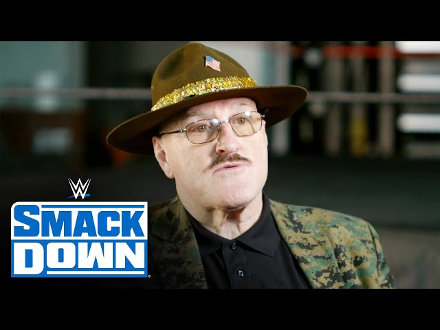 Without Pat Patterson there might not be a Sgt. Slaughter: Smackdown Exclusive, Dec. 4, 2020