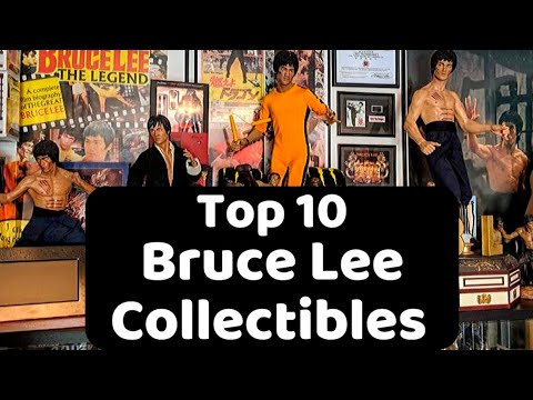 Top 10 Bruce Lee Collectibles | Dave Love