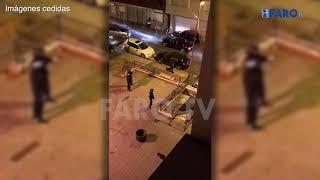 El vídeo de los disparos con un AK-47 a la Policía Nacional en Ceuta