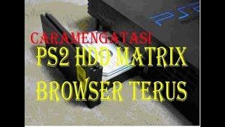 Cara mengatasi ps2 hdd NA tidak terdeteksi di ps2 / Browser terus