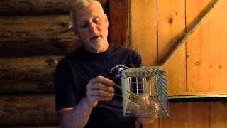 How To Set The New Comstock Live Cage Trap For Squirrels And Small Animals