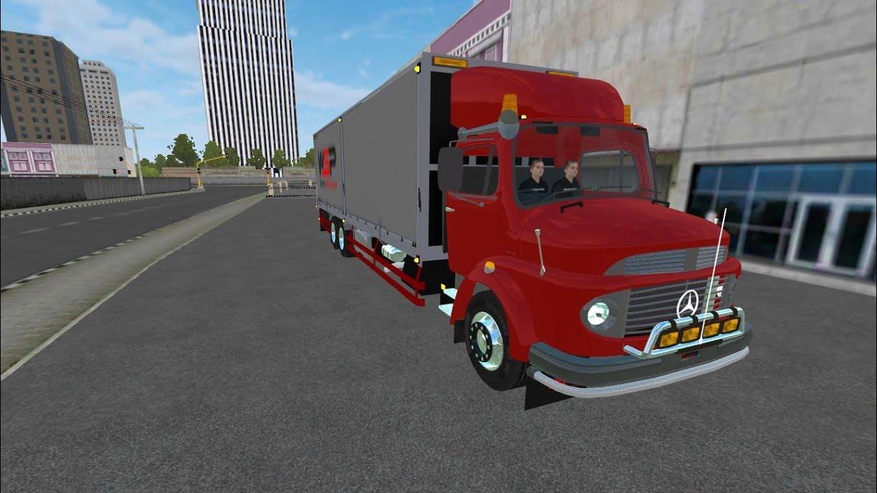 BUSSID,Chuyển hàng ra miền Trung.Share link Truck Đầu Ngao.