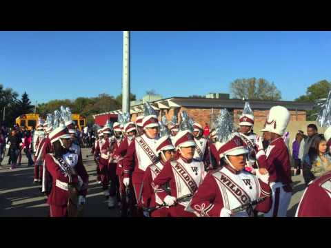 Washington High School Marching Out of Battle of the Bands & Funk Train (2015)