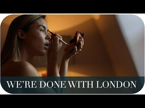 WE'RE DONE WITH LONDON | THE MICHALAKS | AD