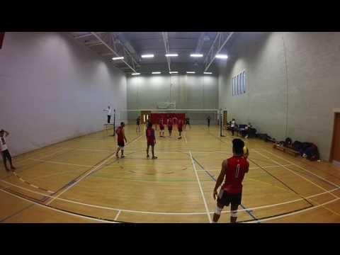 Men's Volleyball: Stirling University vs Birmingham 2016/17 BUCS (H)