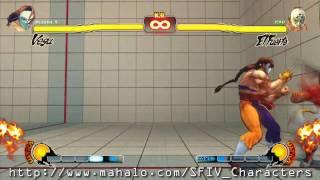 Street Fighter IV Gameplay Montage