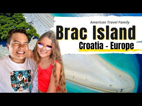 CROATIA BRAC ISLAND   Travel Family Vlog Croatia 😀