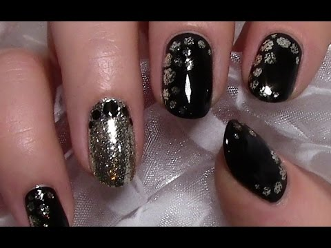 blobbicure mit nagellack selber machen elegantes nageldesign chic nail art design tutorial. Black Bedroom Furniture Sets. Home Design Ideas