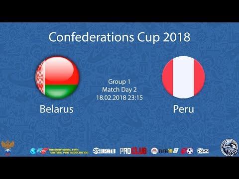 Belarus - Peru   iFVPA Confederations Cup 2018   Group stage