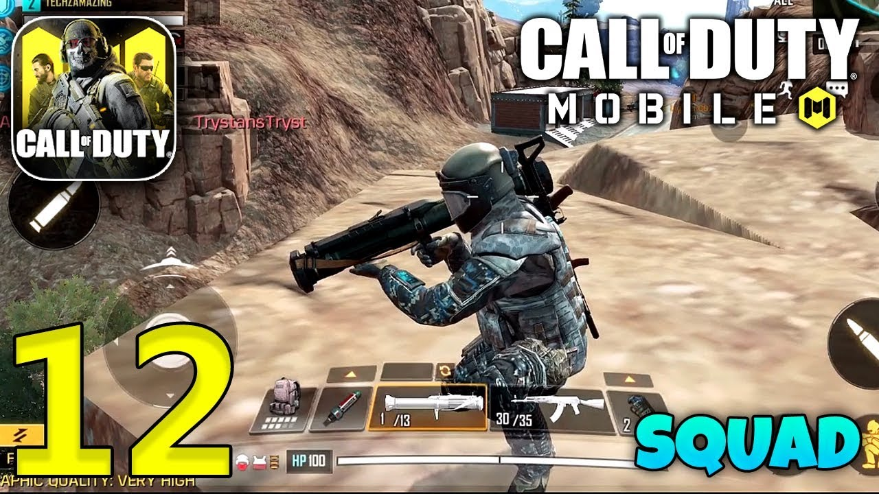 CALL OF DUTY MOBILE - Squad Gameplay - Part 12 (CODM)