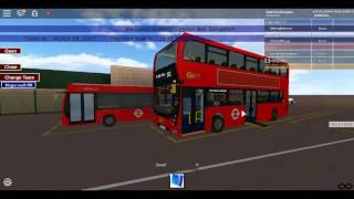 Roblox North London bus Simulator Ultimo E400 MMC Ibrido Andare Avanti London Fleet EH39 sulla Route 231