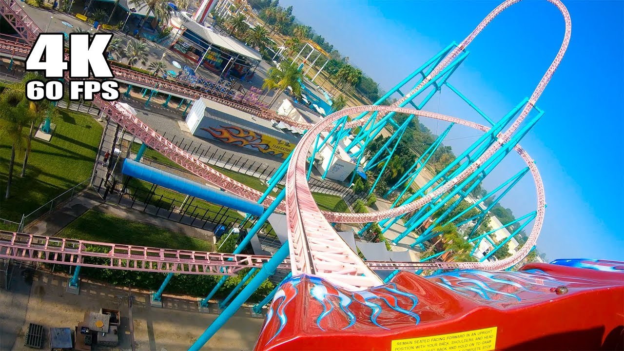 Xcelerator Roller Coaster Riding Xcelerator Roll...