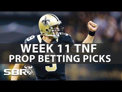 Saints vs Panthers Week 11 | NFL Prop Picks With Jordan Sharp