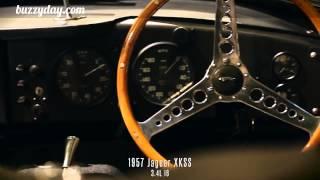 Le bruit de moteur au démarrage de 33 voitures de luxe