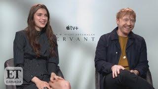 Rupert Grint, Lauren Ambrose Talk 'Servant'