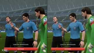 FIFA 14: Xbox 360 vs. PC Comparison