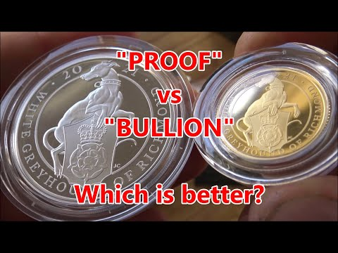 """What are """"Proof"""" Coins & are they better than bullion?   Proof Silver & Gold Greyhound of Richmond"""