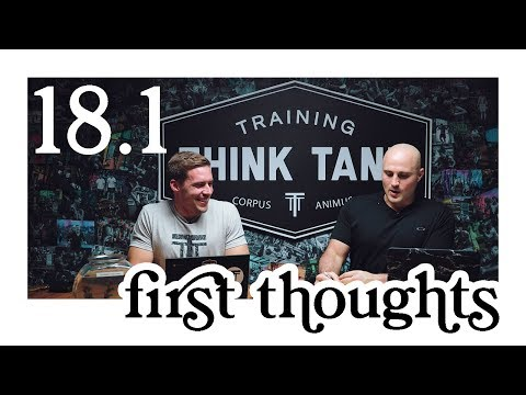 Open Workout 18.1: First Thoughts