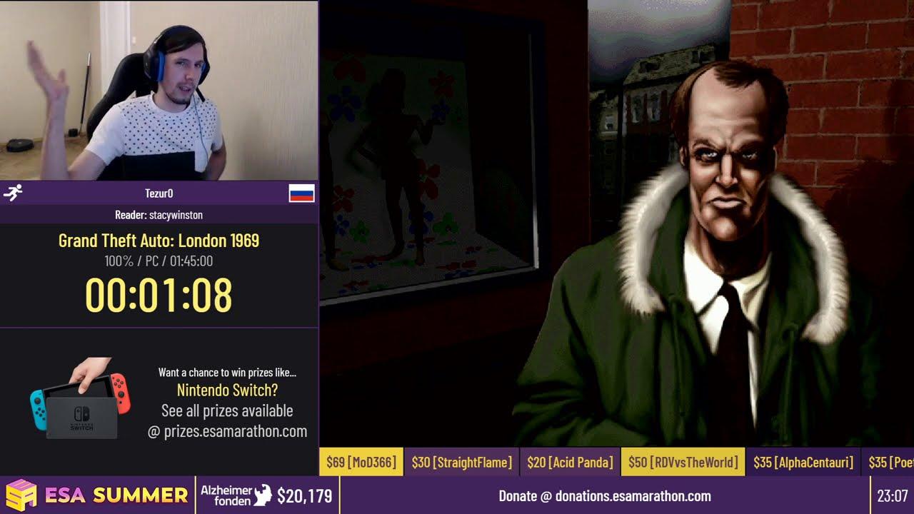 Grand Theft Auto: London 1969 [100%] by Tezur0 - #ESASummerOnline