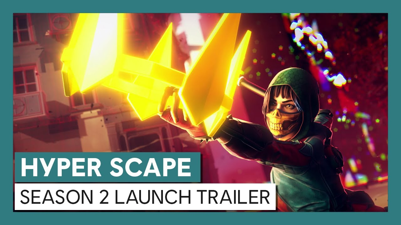 Hyper Scape: Season 2 Launch Trailer