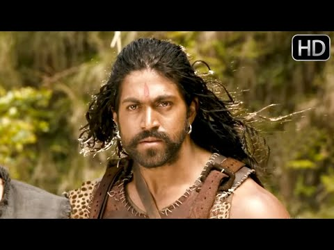 Yash Kannada Actor Movies - Gajakesari Action Scenes | Yash, Amulya