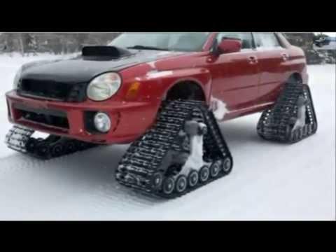 Автомобильные гусеницы Track A - YouTube