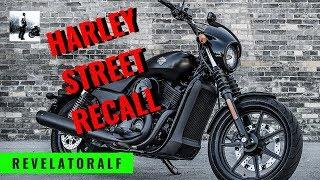 Harley Davidson Street Motorcycle Recall - Faulty Brakes - RevelatorAlf