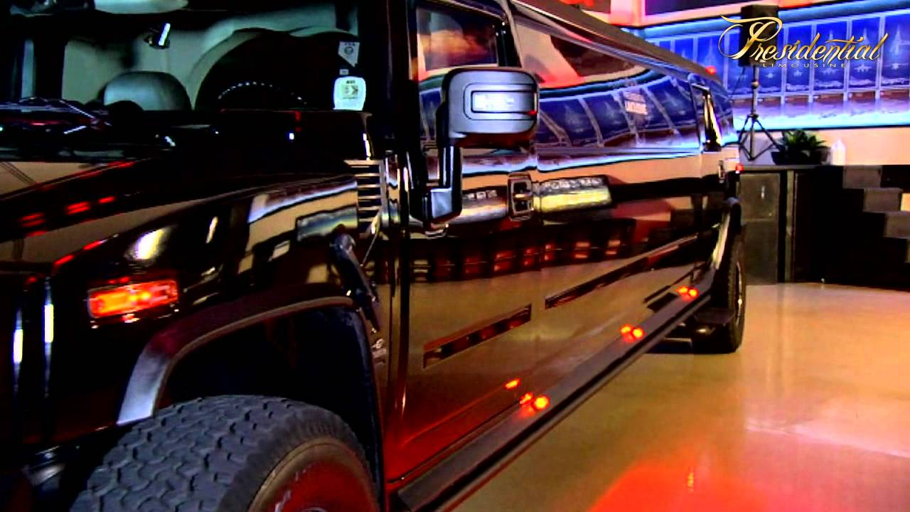 Luxury Super Stretch Hummer H2 Limo From Presidential