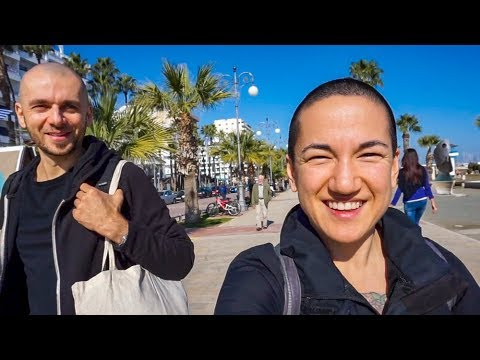 OUR FIRST WEEK IN LARNACA, CYPRUS