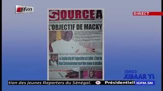 REPLAY - Revue de Presse - Pr : MAMADOU MOUHAMED NDIAYE - 18 Janvier 2019