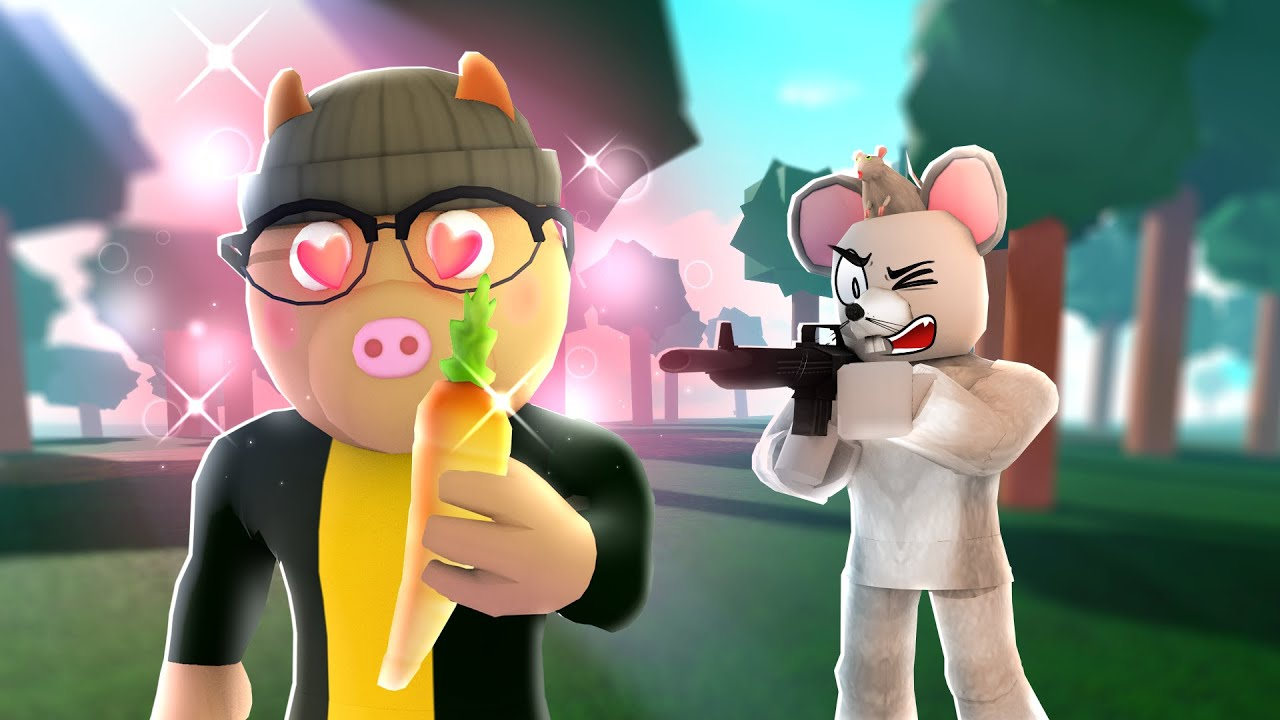 PIGGY: INTERCITY but I have a GUN! (Roblox)