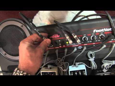 Summer NAMM '11 - SKB Cases Footnote Amplified Pedalboard Demo