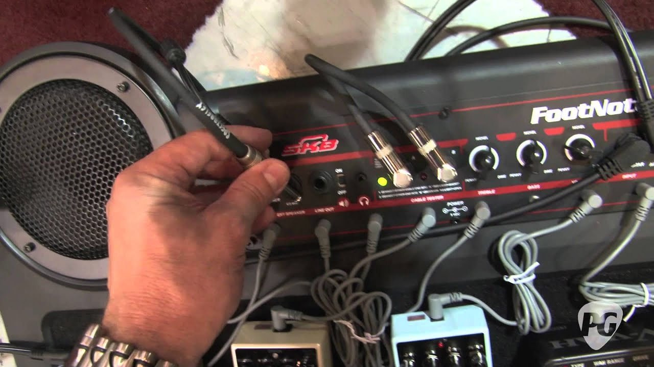Summer Namm 11 Skb Cases Footnote Amplified Pedalboard Demo Youtube Wiring Diagram
