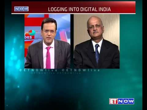 #DigitalIndia Nasscom President R Chandrashekhar On Digital India Drive
