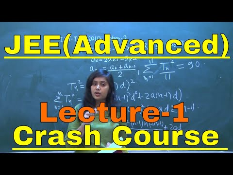 Crash Course || For JEE(Advanced) 2018 || Lecture-1 || Mathematics || By-Saumya Soni Ma'am(IIT BHU)