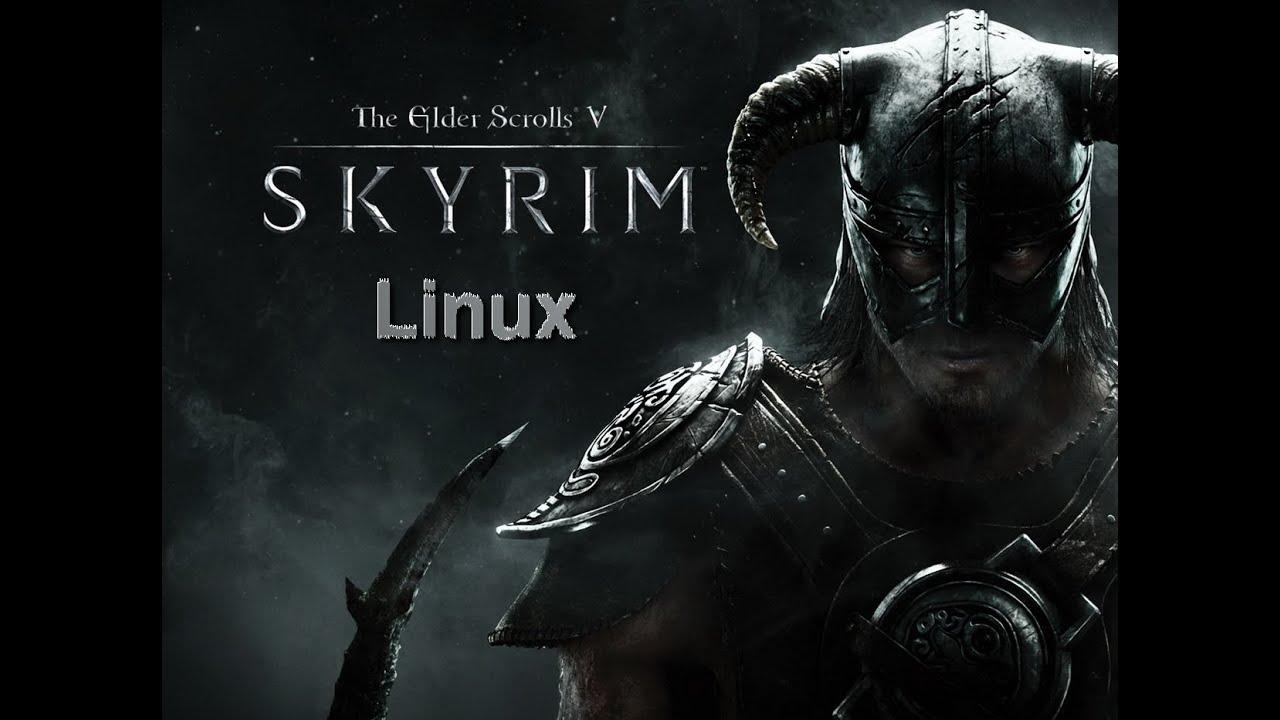 Como jogar Skyrim no Linux - Diolinux - O modo Linux e Open