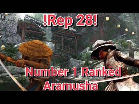 For Honor - Facing The Number 1 Aramusha On Xbox! Insane Rep