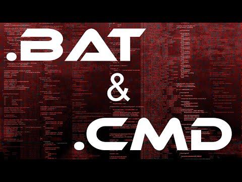 Самые главные и нужные команды для  BAT и CMD