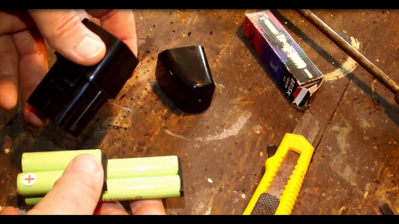 Swivel Sweeper Battery Disassemble Youtube