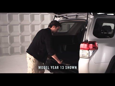 2014 4Runner How-To: Sliding Rear Cargo Deck | Toyota