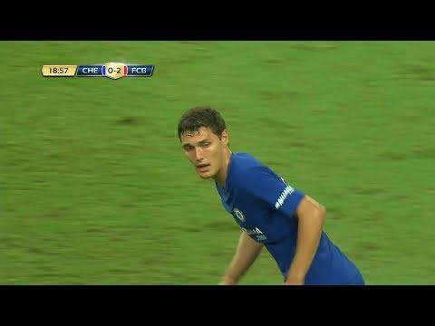 Andreas Christensen vs Bayern Munich (Pre-Season) 25/07/2017 HD 1080i