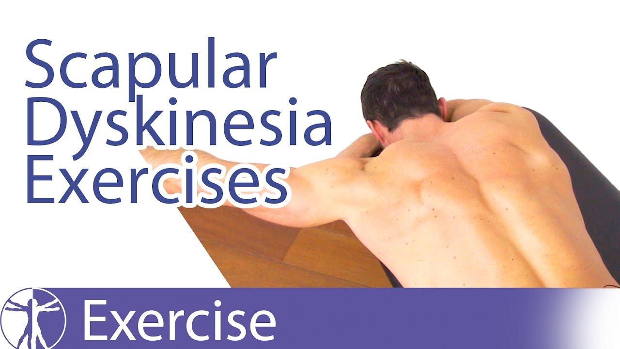 Best Scapular Dyskinesis Dyskinesia Exercises Youtube