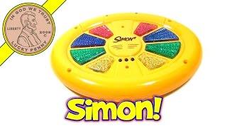 Milton Bradley Simon 2 Electronic Memory Handheld Game, 2000 Hasbro Toys