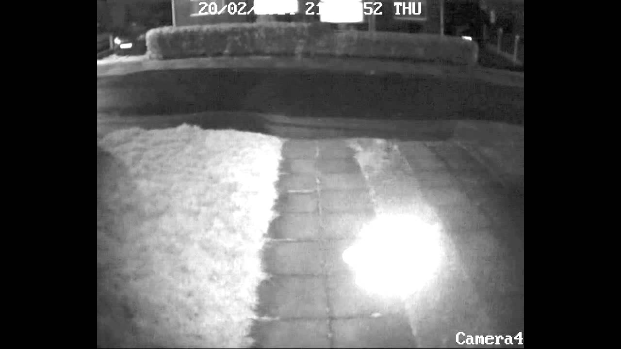 Orb Caught On Security Camera 720p HD - YouTube