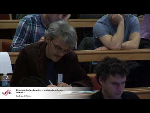 Béatrice de Tilière : Dimers and related models in statistic