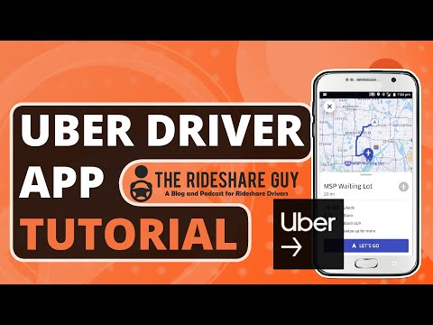 How To Use Uber Driver App - 2018/2019 Training & Tutorial